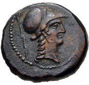 Bronze Æ19 (Aigeai) – avers