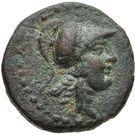Bronze Æ18 (Aigeai) – avers