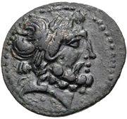 Bronze Æ23 (Aigeai) – avers