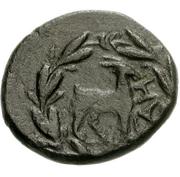 Tetrachalkon (Aigeira) – revers