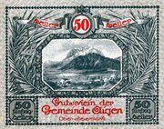 50 Heller (Aigen; Grey issue) – avers