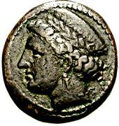 Bronze Æ19 (Aigospotamoi) – avers