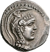Trihemidrachm - Eukrates (Hypata) – avers
