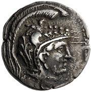 Trihemidrachm - Epikrates (Hypata) – avers