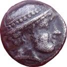 Diobole de Ainos – avers
