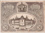 50 Heller (Aistersheim) – avers