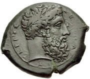 Bronze Æ23 (Aitna) – avers