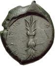 Bronze Æ23 (Aitna) – revers