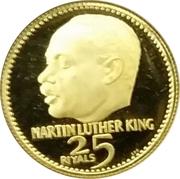 25 Riyals - Rashid (Martin Luther King) – revers
