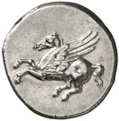Stater (Akarnanian Confederacy; Thyrreion or Leukas) – avers