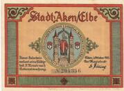 25 Pfennig (Aken) – avers