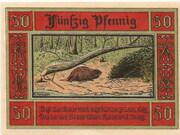 50 Pfennig (Aken) – revers