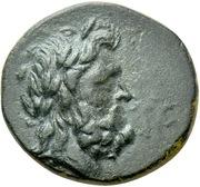 Bronze Æ19 - Menodotos and Silion (Alkmoneia) – avers