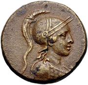 Bronze Æ22 - Menodotos and Sillon – avers
