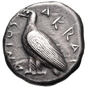 Didrachm (Akragas) – avers