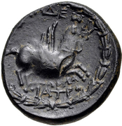 Bronze Æ20 (Alabanda) – revers