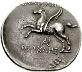 Tetradrachm (Alabanda) – revers