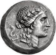 Tetradrachm (Alabanda) – avers