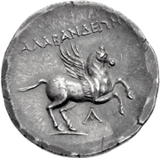 Tetradrachm (Alabanda) – revers