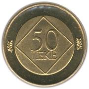 50 leke Geronimo De Rada – revers