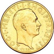 50 franga ari (Royaume) – avers