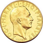 100 franga ari (Royaume) – avers