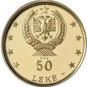 50 leke (Ruines d'Argirocastrum) -  avers