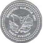 100 Lekë (Intégration dans l'Europe) – avers