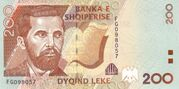 200 Leke – avers