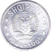 10 qindarka (République populaire socialiste) – avers