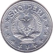 5 lek (République populaire socialiste) – avers