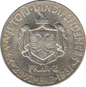2 franga ari (Royaume) – revers