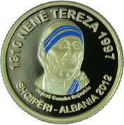 200 Leke (Mère Teresa) – avers