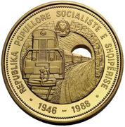 7500 Leke (Chemins de fer) – avers