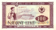 100 Leke – avers