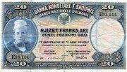 20 Franka Ari – avers