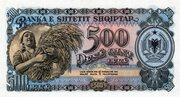 500 Lekë – revers