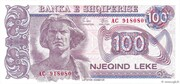 100 Leke -  avers