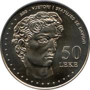 50 leke (République) – revers