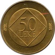 50 leke Geronimo De Rada -  revers