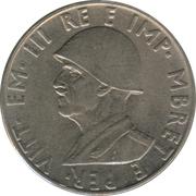 0.5 lek (occupation italienne) – avers