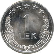 1 lek (république populaire socialiste) -  revers