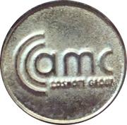 Jeton - AMC Cosmote (Nouvelle année 2006) – avers