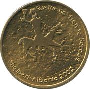 20 leke (République - l'art préhistorique) – avers