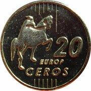 20 Europ Ceros  – revers
