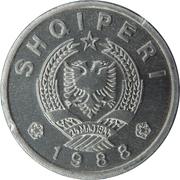 20 qindarka (république populaire socialiste) – avers