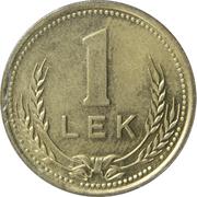 1 lek (République populaire socialiste) – revers