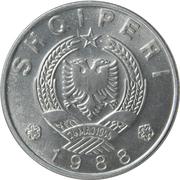 1 lek (république populaire socialiste) – avers