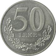 50 lekë (République) – revers