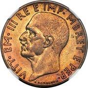 0.10 Lek - Vittorio Emanuele III (Essai) – avers